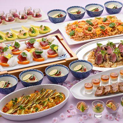 【2019.3.1〜スタート!】本格和食やシェフ特製の料理のおもてなしで楽しむスプリングパーティープラン