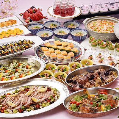 飯蛸や桜海老、筍や春野菜など長崎の春を満喫するディナービュッフェ