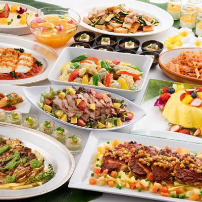 【7月土日祝日開催決定】夏のランチ&デザート食べ放題フェア
