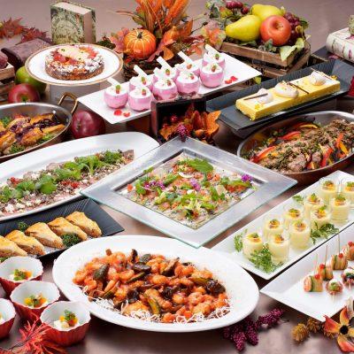 旬の味覚と長崎郷土料理が楽しめる秋の収穫祭のディナーバイキング開催中!